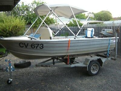 3.7 m Stacer Rivera Used Boat