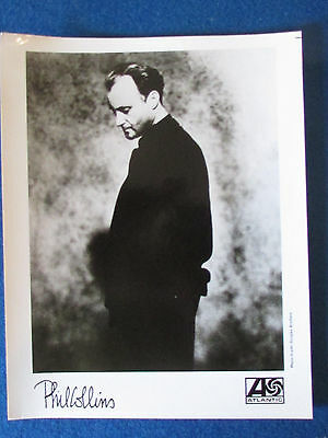 "Original Press Promo Photo - 10""x8"" - Phil Collins - Genesis - 1990's"