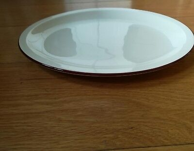 2 x oval plate platters DUDSON finest vitrified tableware NEW