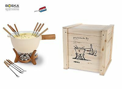Boska: Mr.Big: fondue set Cheesy Maxy- set fonduta XL per 12 persone (o più)
