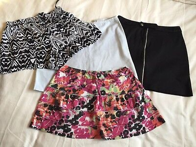 Selection Of Ladies Short Skirts Size 10 New Look And More