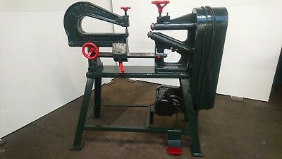 Edwards circle cutting /forming/machine/very good condition