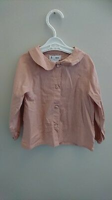 Blouse and trousers set girls 18 months La Redoute R mini