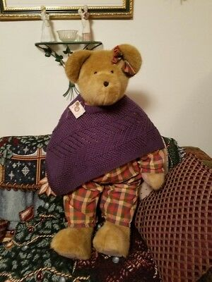 """Boyds Bear 40"""" Amber Steadsbeary Longaberger Exclusive Boyd. NWT Hard to Find"""