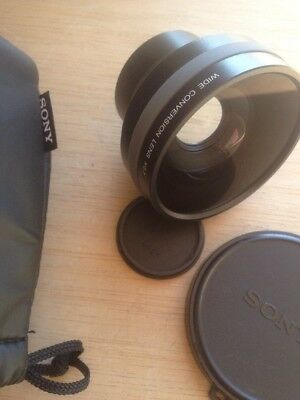 Sony wide conversion lens x0.7 VCL-HG0737Y