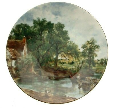 Crown Staffordshire The Hay Wain John Constable collector plate CPO_143