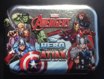 Topps Marvel Avengers Hero Attax Tin (Z-Box Exclusive)