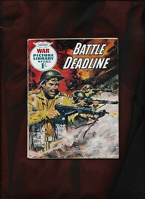 War Picture Library #252_Battle Deadline_Aug 1964_G+