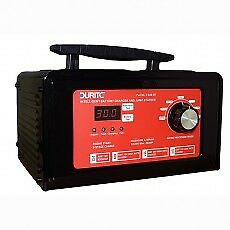 Durite 9 Step Fully Automatic Bench Start/Charger Maintainer - 12/24V