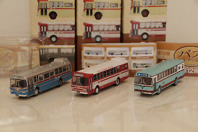 Tomix  Bus Collection Brown 1/150 N scale Japan Scale Plastic Model 3 from #12 1