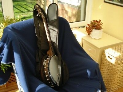 "Gig Bag for Tenor Banjo, Black, By ""Boston"""