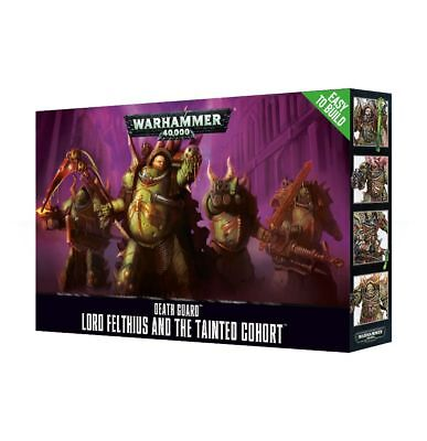 Easy to Build: Death Guard Lord felthius and the Tainted Cohort Warhammer 40.000
