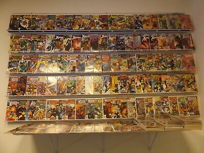 Huge Lot of 250+ Comics What If, Wolverine, X-Men+MORE! Avg VF- Condition!