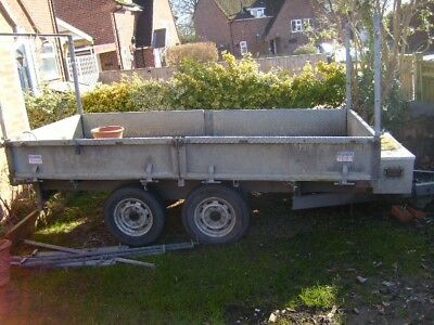 tipping trailer INDISPENTION2.5TON. Twin Wheel tipping trailer,