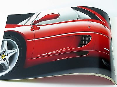 Ferrari F355 Berlinetta Sales Brochure Catalog 1994 MINT