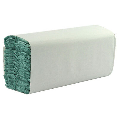 Whitebox 1 Ply Green C-Fold Hand Towels (Pack of 2850) WX43094