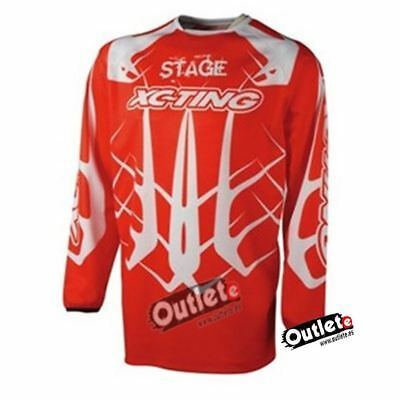 CAMISETA XC-TING STAGE 3 ROJA OFF- ROAD Talla XL ROJO/BLANCO