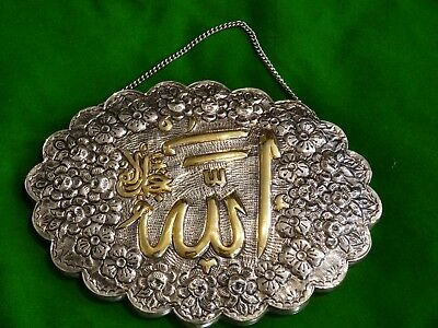 900 Silver Turkish Wedding Mirror.