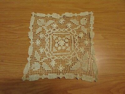 A Small Vintage Hand Made Table Doily