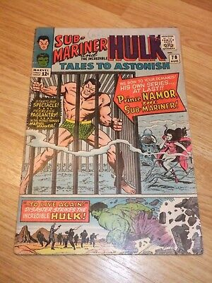Marvel Comic Tales to Astonish Issue 70 August 1965