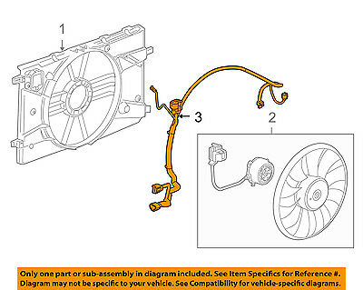 Excellent Chevrolet Gm Oem 11 15 Cruze 1 4L L4 Engine Cooling Fan Wiring Wiring 101 Tzicihahutechinfo