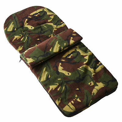 Fleece Footmuff Compatible With Mamas & Papas Joolz - Camouflage
