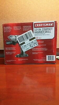 Craftsman 1/2-In. Compact Hammer Drill
