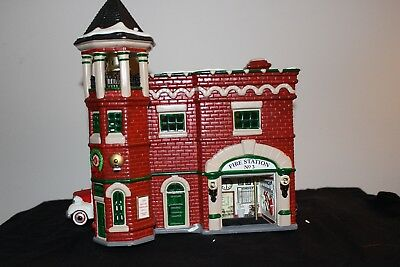 Department 56  FIRE STATION #3