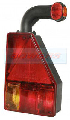 Aspock Earpoint 1 Rear Right Hand Tail Light Lamp For Ifor Williams Trailer
