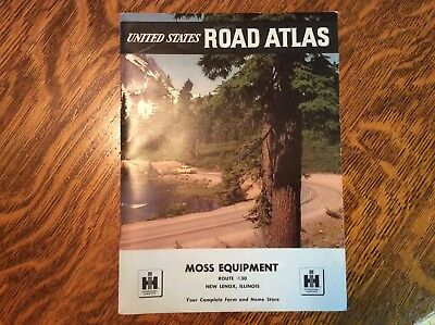 Vintage~1960s~International Harvester/IH~Road Atlas~MINT