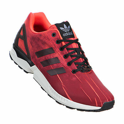 best website 7bc09 20bd0 NEW ADIDAS ORIGINALS ZX Flux Men's Shoes SOLAR RED Black White Q16516