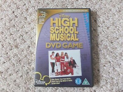 HIGH SCHOOL MUSICAL DVD GAME - good condition