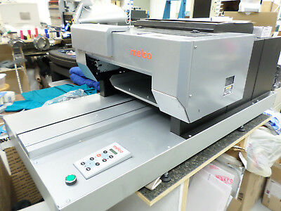 Melco G3 DTG (Direct To Garment) Textile Printer with Heat Press, Inks, Pretreat
