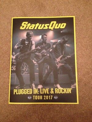 Status Quo : Plugged In Live & Rockin Tour 2017