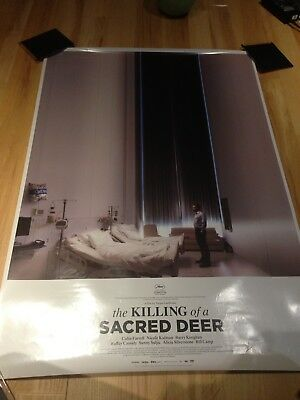 Lot Of Two 2 Killing Of A Sacred Deer Movie Posters Original 27x40 Film Rare