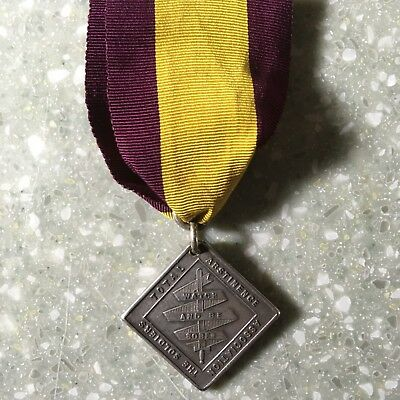 Silver Victorian Army Temperance Medal STA2, the 3 year medal
