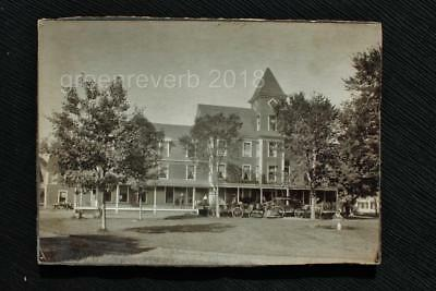 Antique Mounted Photo_Mansion House Inn_Hotel_Lancaster, N.H._Early 1900s