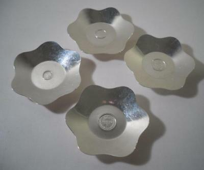 A Set of Four Silver Dishes w. Integrated 1896 Maundy Money Set: Birmingham 1936