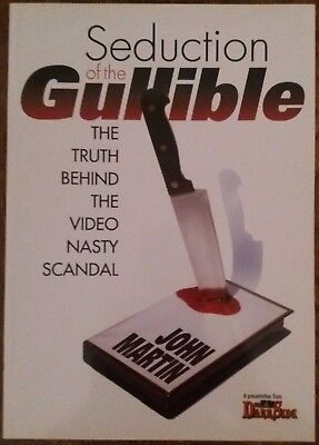 Seduction of the Guillible by John Martin / Video Nasty / Paperback