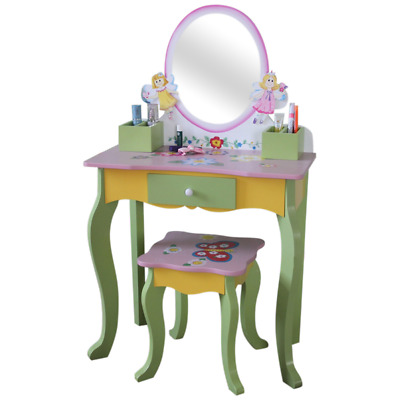 Fairy Dressing Table & Stool / Child's Bedroom Furniture