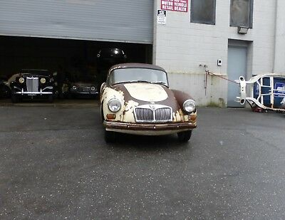 1960 MG MGA Coupe 1960 MGA Coupe 1600 Matching Numbers with Running Engine for Restoration