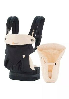 Ergobaby 360 All Carry Positions Ergonomic Baby Carrier with Bundle of Joy In...