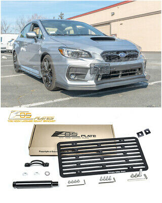 EOS Plate For 17-Up Subaru WRX / STI Full Sized Front Tow Hook License Bracket