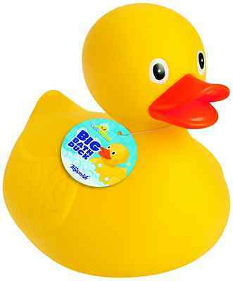 NEW New 8.5'' Jumbo Rubber Duck Bath Toy - Giant Ducks Duckie Baby Shower Gift