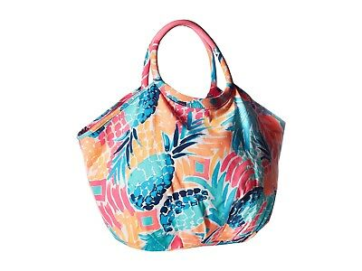 NWT Lilly Pulitzer Bohemian Beach Tote In GOOMBAY SMASH