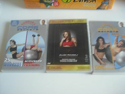 Cardio  Fitness Kit .full Body Workouts On 7 Dvds , Body Shaping,backside. Front
