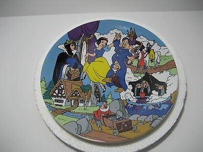 """Disney Snow White """"The Enchantment of Snow White"""" First Edition Plate Numbered"""