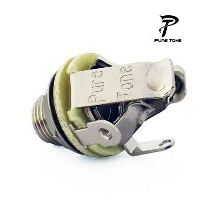 Pure Tone Mono Output Jack (Nickel)