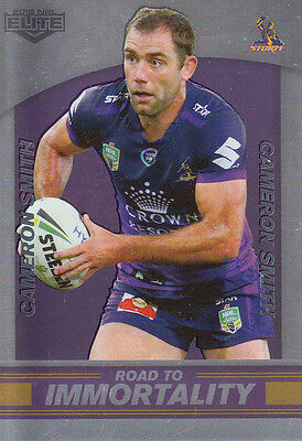 2016 Elite Road To Immortality Case Card - Cc2 Cam Smith Melbourne Storm #038