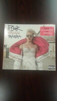 NEW PINK Beatiful Trauma CD Ft What about us and Revenge EXPLICIT Beautiful